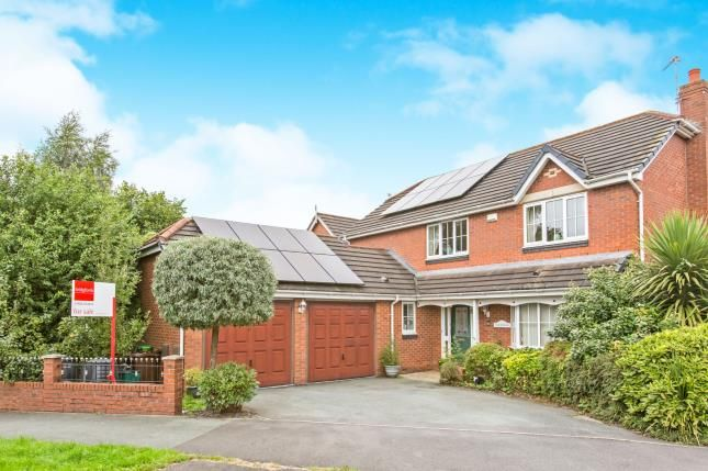 Thumbnail Detached house for sale in Moors Lane, Darnhall, England