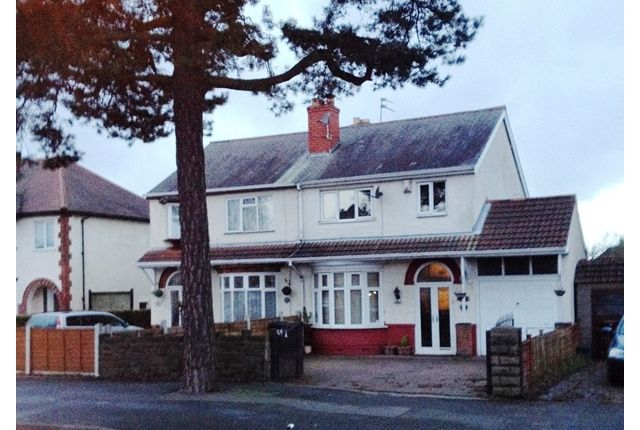 Thumbnail Semi-detached house to rent in Stafford Rd Fordhouses West Midlands, Wolverhampton WV10, Wolverhampton,