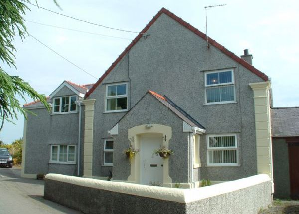 Thumbnail Detached house for sale in Tregele, Cemaes Bay