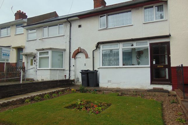 Thumbnail Terraced house to rent in Kemsley Road, Maypole, Birmingham, West Midlands