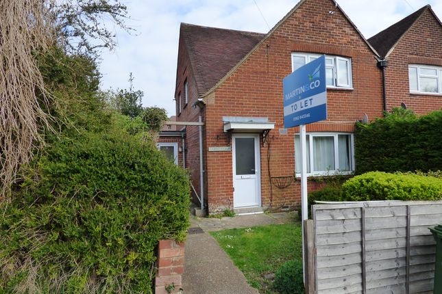 Thumbnail Semi-detached house to rent in Drayton Street, Winchester