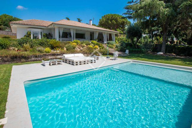 Thumbnail Villa for sale in Spain, Barcelona North Coast (Maresme), Sant Andreu De Llavaneres, Mrs7386