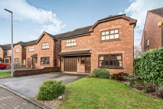 Thumbnail Detached house for sale in Chartwell Park, Wheelock, Sandbach, Cheshire