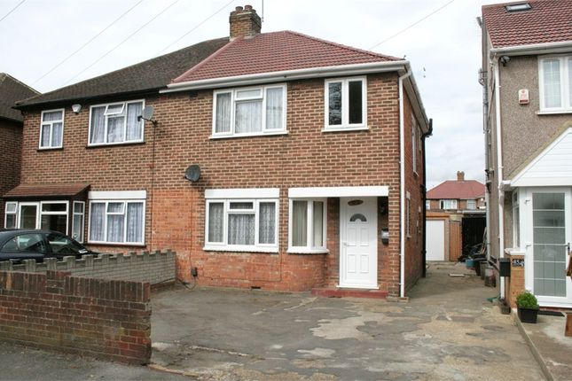Thumbnail Semi-detached house for sale in Shakespeare Avenue, Hayes