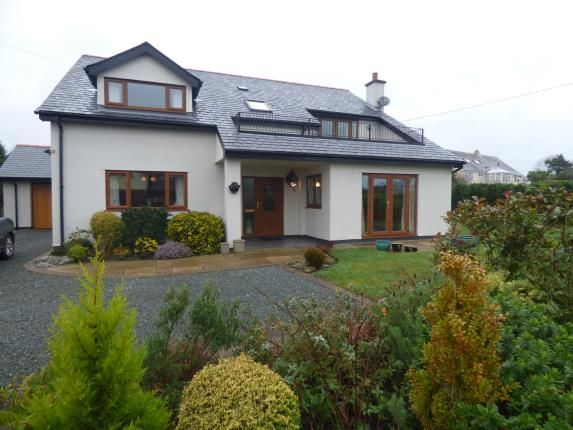 Thumbnail Detached house for sale in Llanddona, Beaumaris, Sir Ynys Mon, Anglesey