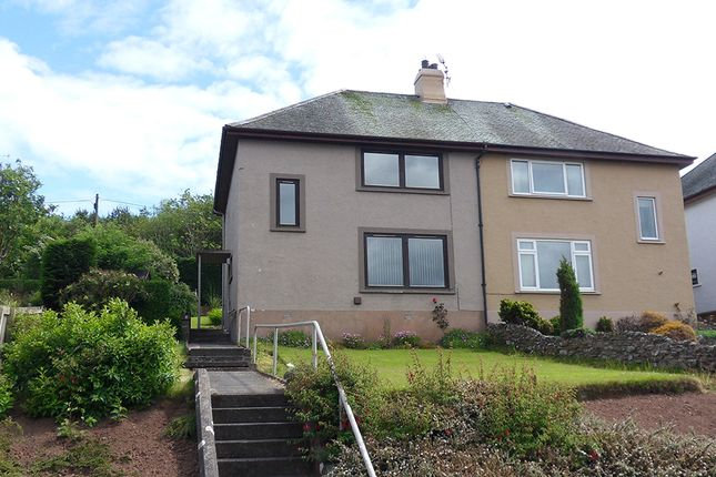 Thumbnail Semi-detached house for sale in Queens Road, Eyemouth