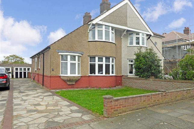 Thumbnail Semi-detached house for sale in Cornwall Avenue, Welling, Kent