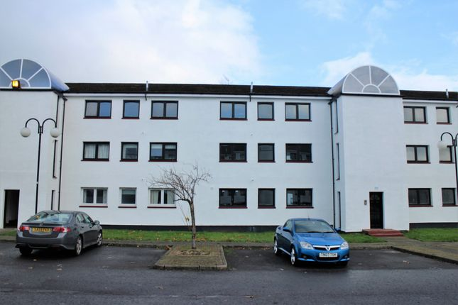 Thumbnail Flat for sale in Kildonan Court, Newmains, Wishaw
