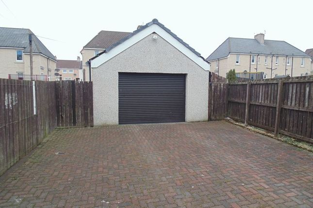 Garage of Silverburn Crescent, Newarthill, Motherwell ML1