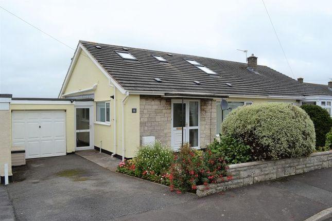 Thumbnail Semi-detached bungalow for sale in Fosseway Gardens, Westfield, Radstock