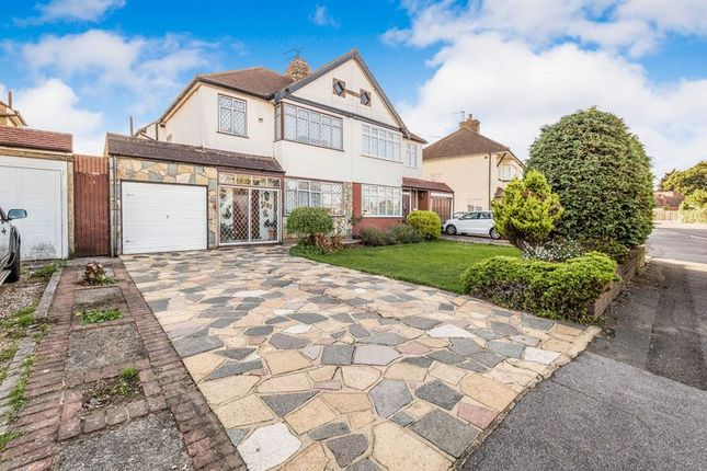 Thumbnail Semi-detached house for sale in Pettits Lane North, Romford