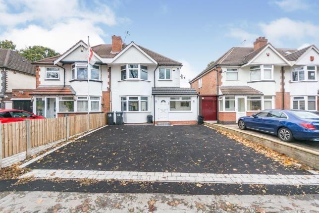 Thumbnail Semi-detached house for sale in Olton Boulevard East, Birmingham, West Midlands