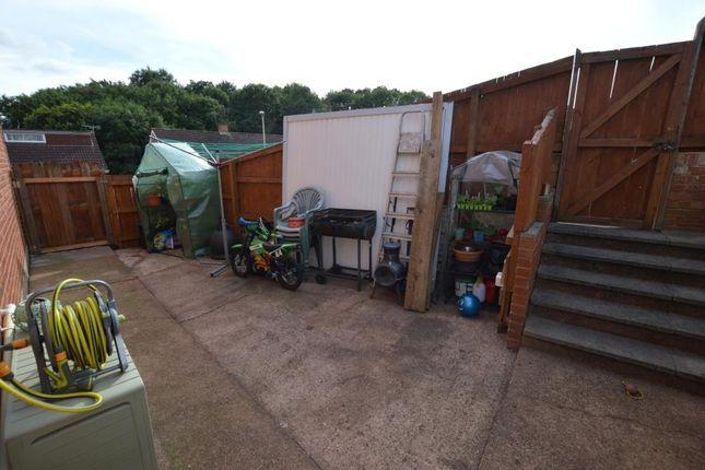 Side Garden of Iolanthe Drive, Beacon Heath, Exeter, Devon EX4
