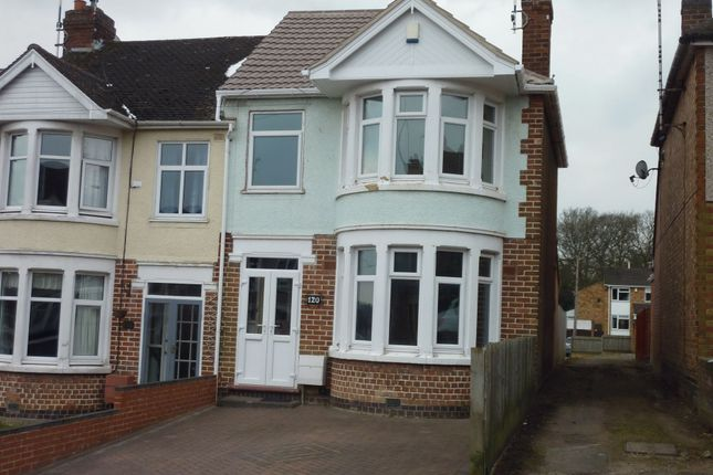 Thumbnail End terrace house to rent in Ashington Grove, Whitley, Coventry, West Midlands