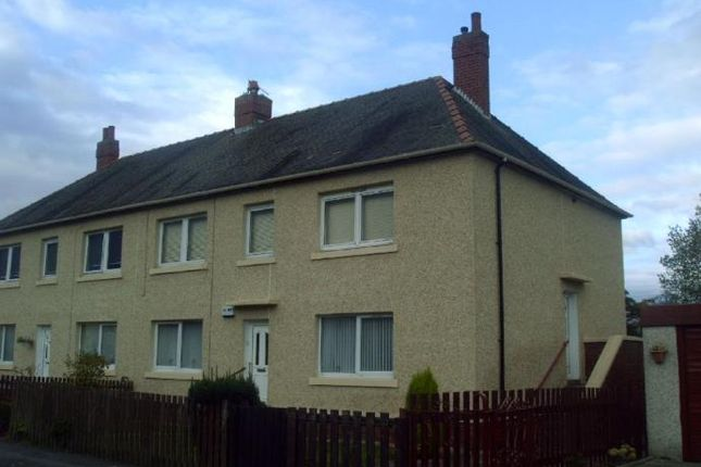 Thumbnail Flat to rent in Cheviot Crescent, Wishaw