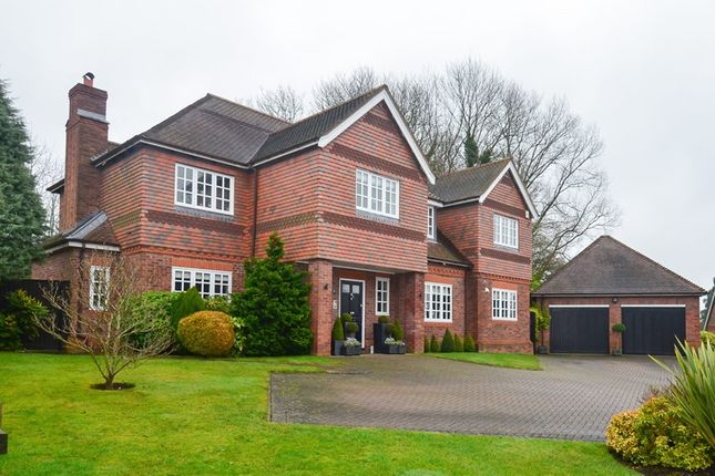 Thumbnail Detached house for sale in Lickey Grange Drive, Marlbrook, Bromsgrove