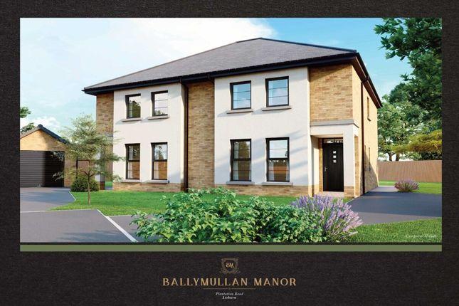 Thumbnail Semi-detached house for sale in Ballymullan Manor, Plantation Road, Lisburn