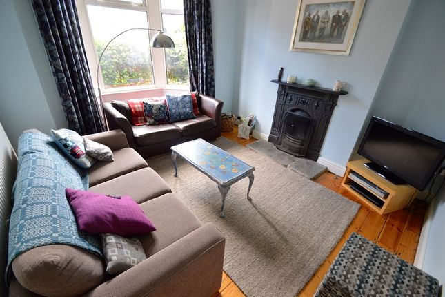 Thumbnail Semi-detached house to rent in Llanfair Road, Pontcanna