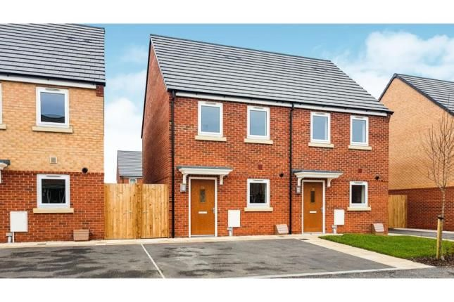 Thumbnail Semi-detached house for sale in The Arun @ Chase Park, Thornton Road, Ellesmere Port