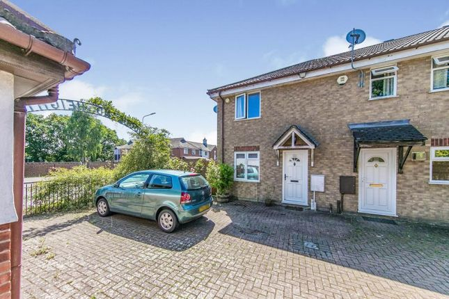 Thumbnail End terrace house for sale in Highwoods, Colchester, Essex