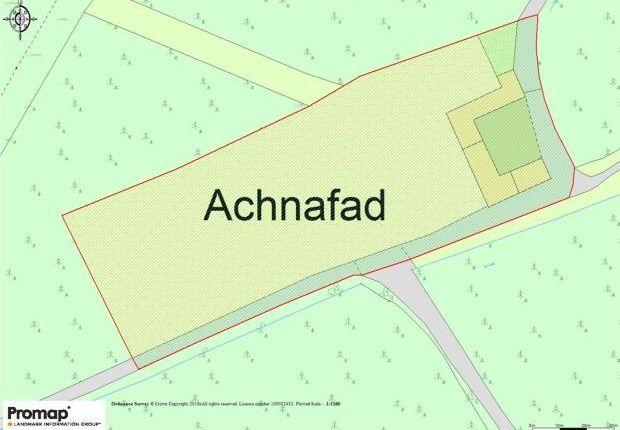 Land Plan of Achnafad Farm, Tayinloan, By Tarbert, Argyll And Bute PA29