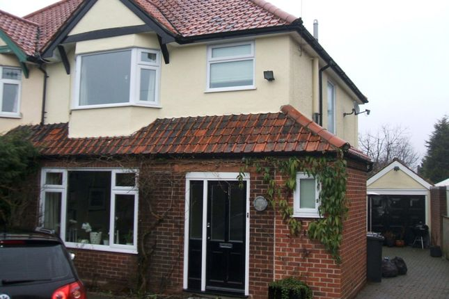 Thumbnail Semi-detached house to rent in Felixstowe Road, Ipswich