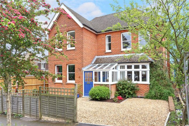 Thumbnail Detached house for sale in St. Johns Road, Farnham, Surrey