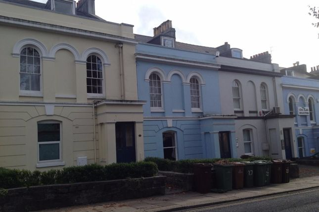 Thumbnail Town house to rent in North Road East, North Hill, Plymouth