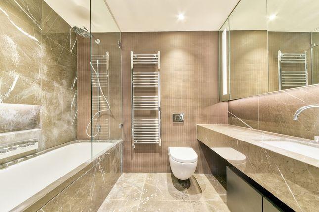 Bathroom of One Tower Bridge, Chatsworth House, London SE1