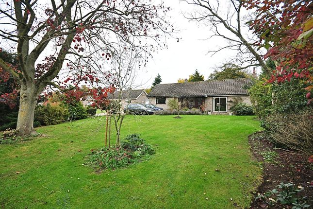 Thumbnail Detached bungalow for sale in Church Close, Hoxne, Eye