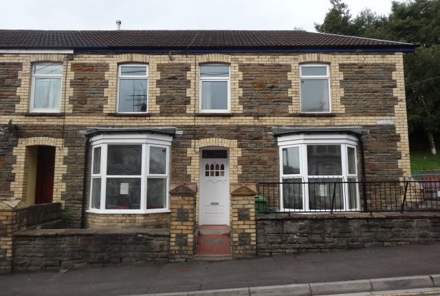 Thumbnail End terrace house to rent in King Street, Treforest, Pontypridd