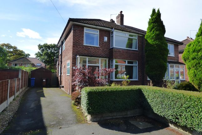Thumbnail Semi-detached house to rent in Grendale Avenue, Hazel Grove, Stockport