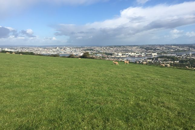 Thumbnail Land for sale in Land Part Manor Farm, Staddiscombe, Plymouth