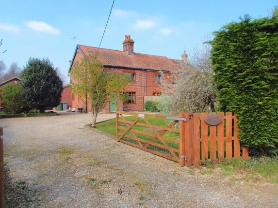 Thumbnail Semi-detached house for sale in North Burlingham, Norwich, Norfolk