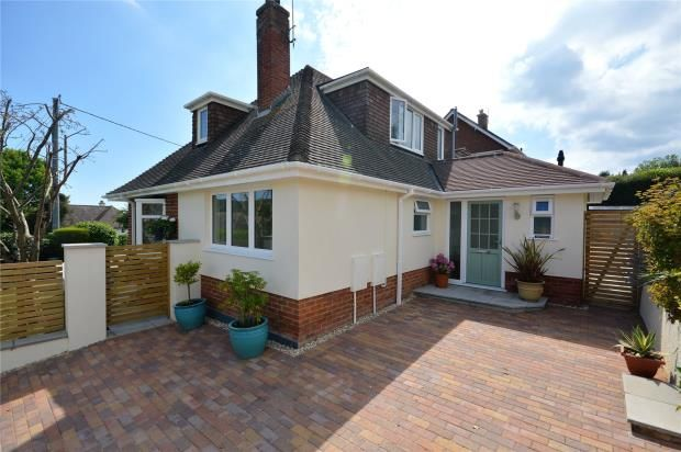 Thumbnail Detached bungalow for sale in Windsor Mead, Sidford, Sidmouth, Devon