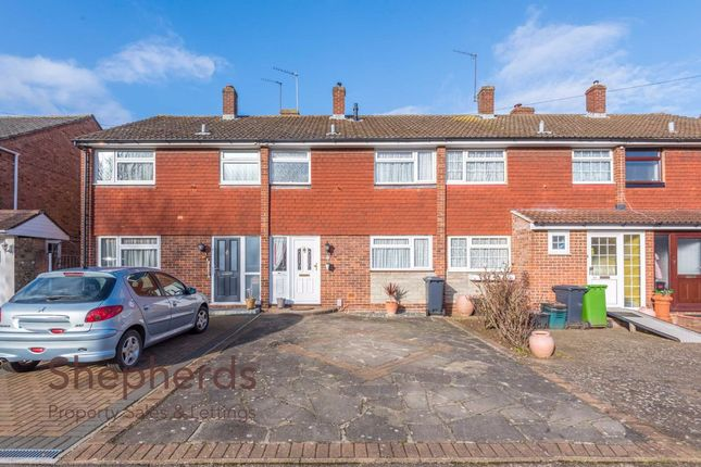 Thumbnail Terraced house for sale in Lilliards Close, Hoddesdon, Hertfordshire