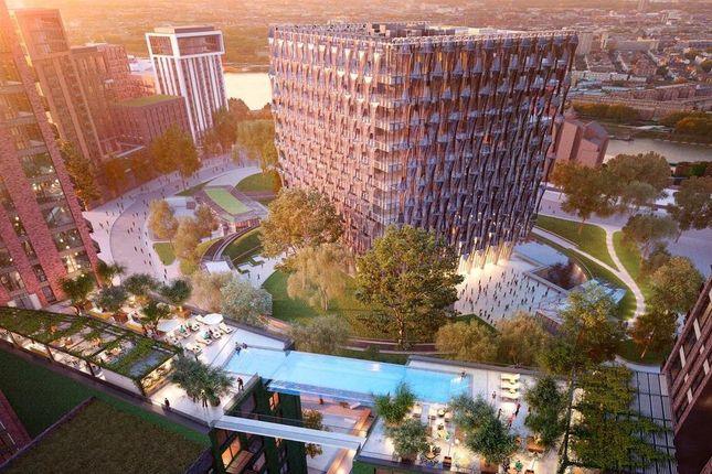 Thumbnail Flat for sale in Legacy Building 3, Embassy Gardens, Nine Elms