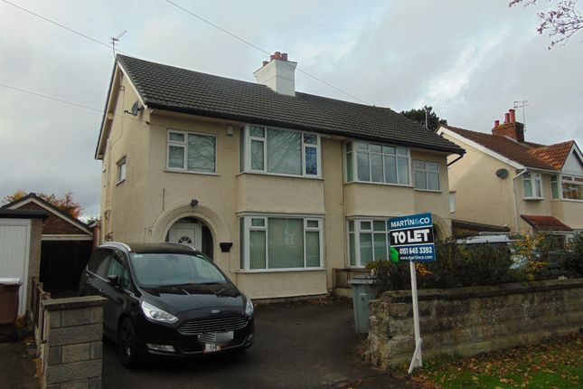 Thumbnail Detached house to rent in Raeburn Avenue, Eastham, Wirral