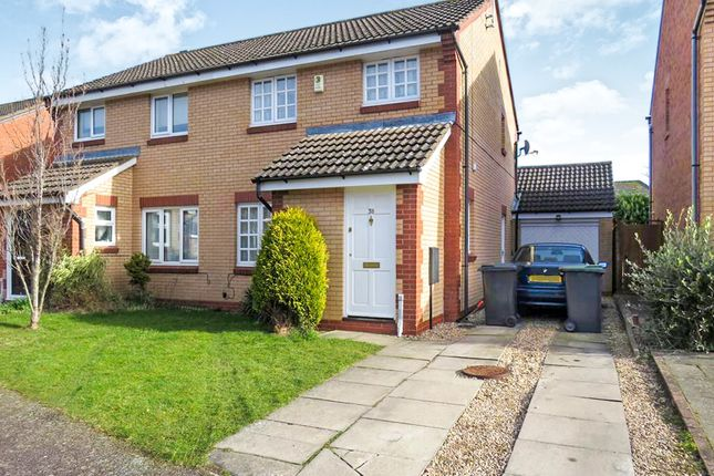 Thumbnail Semi-detached house for sale in Betony Walk, Rushden