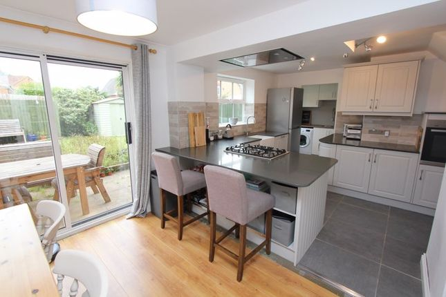 Thumbnail Detached house for sale in Llanmead Gardens, Rhoose, Barry