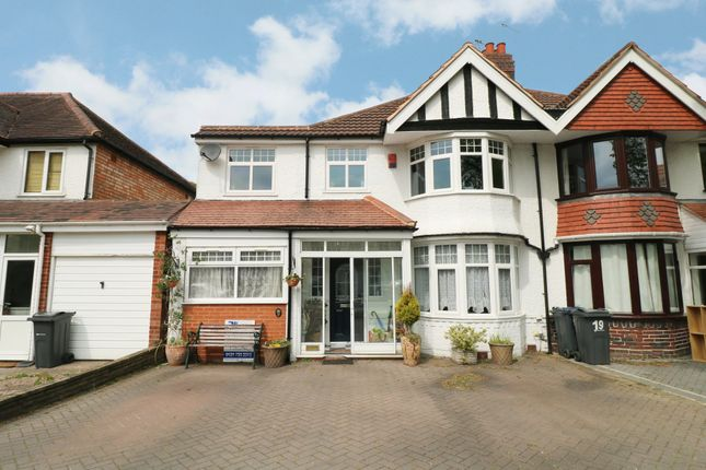 Thumbnail Semi-detached house for sale in Littleover Avenue, Hall Green, Birmingham
