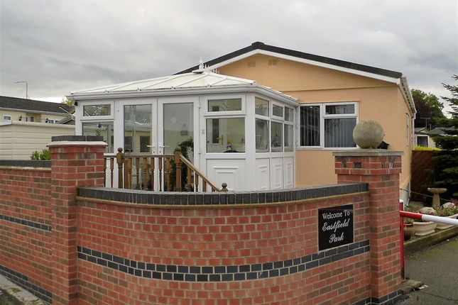 Thumbnail Detached bungalow for sale in Eastfield Park, Tuxford, Newark