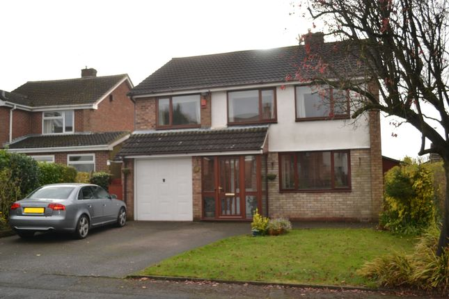 Thumbnail Detached house for sale in Shefford Road, Newcastle-Under-Lyme