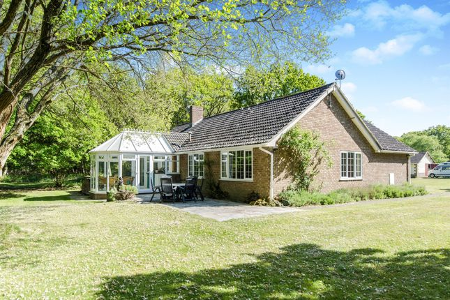 Thumbnail Detached bungalow for sale in Holme Lane, East Stoke, Wareham