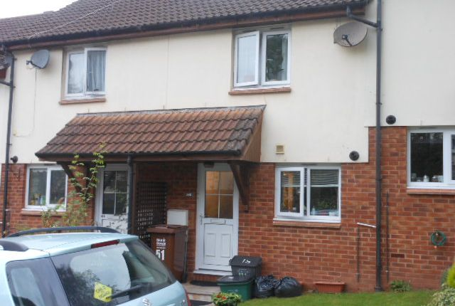 Thumbnail Terraced house to rent in Queen Elizabeth Drive, Crediton