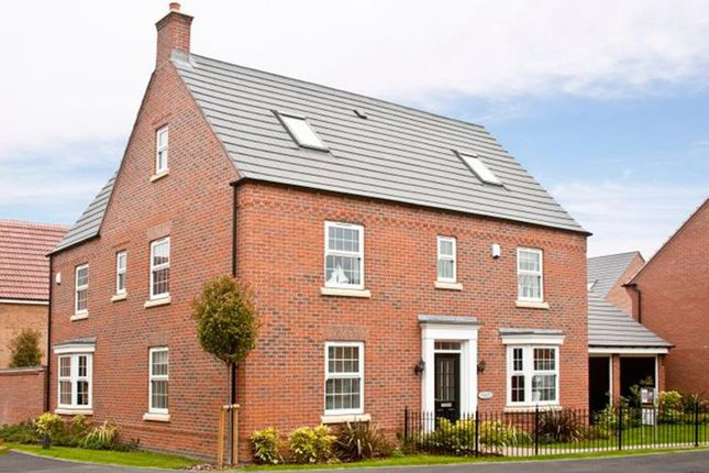 "Thumbnail Detached house for sale in ""Moorecroft"" at Harbury Lane, Heathcote, Warwick"