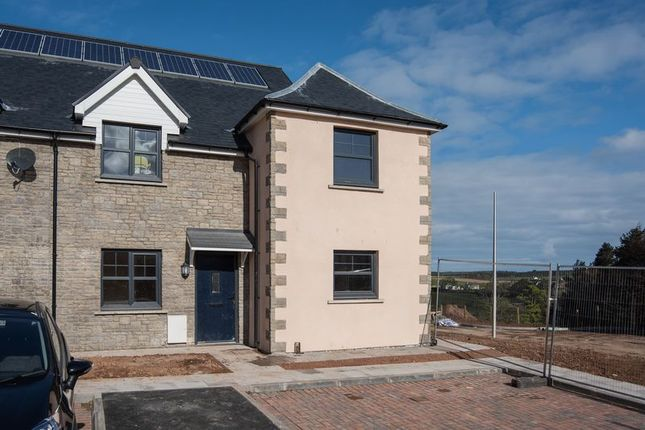 Thumbnail End terrace house for sale in Plot 16, Peelwalls Meadows, Eyemouth