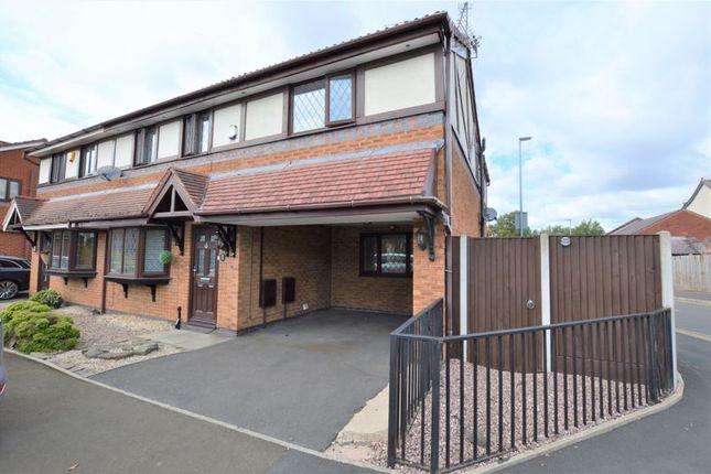 Thumbnail Semi-detached house for sale in Carpenters Walk, Droylsden, Manchester