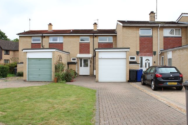 Thumbnail Terraced house to rent in Bell Meadow, Bury St Edmunds, Suffolk