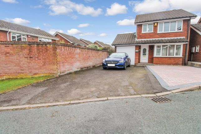 Thumbnail Detached house for sale in Wynstay Court, Clayton, Newcastle-Under-Lyme